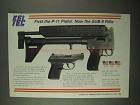 1997 Kel-Tec Sub-9 Rifle and P-11 Pistol Ad