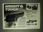 1997 Trijicon Night Sights Ad - Bright & Tough