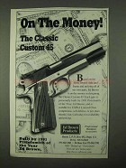 1997 Ed Brown Classic Custom 45 Pistol Ad - On Money