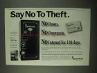 1997 Browning Gun Safe Ad - Say No To Theft