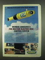 1974 Monroe Max-Air Electric Ride Control System Ad