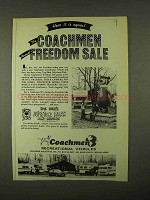 1974 Coachmen RV's Ad - Freedom Sale