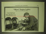 1922 Oliver Engine Lathes Ad