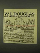 1922 W.L. Douglas Shoes Ad - Wear and Save Money