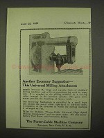 1922 Porter-Cable Universal Milling Attachment Ad