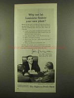 1965 Louisiana Commerce Ad - Governor John J. McKeithen