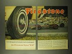 1965 Firestone Nylon 500 Tires Ad - Symbol of Quality