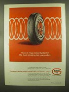 1965 General Tire Dual 90 Tires Ad - Most Amazing
