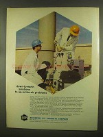 1965 Universal Oil Products Ad - Down-to-Earth