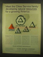1965 Citgo Petroleum Ad - Cities Service Family