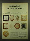 1965 Westclox Clocks Ad - Shadow Box, Medford, Granby