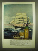 1965 Cutty Sark Scotch Ad - Scores of Brands