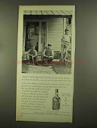 1965 Jack Daniel's Whiskey Ad - About Biggest Ruckus