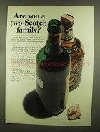 1965 Chivas Regal Scotch Ad - Are You Two-Scotch Family