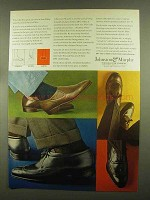 1965 Johnston & Murphy Shoes Ad - The Cartier +
