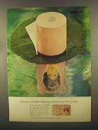 1965 Aurora Toilet Paper Ad - Ladylike Reflection
