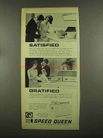 1965 Speed Queen Automatic Washer and Dryer Ad