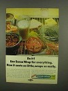1965 Saran Wrap Ad - Costs So Little Wraps so Easily