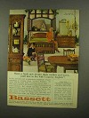 1965 Bassett Country English Furniture Ad - Mellow