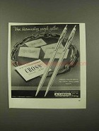 1965 Cross Pens Ad - Discriminating People Gather
