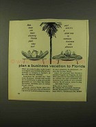 1965 Florida Development Commission Ad - Vacation