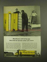 1965 Mayflower Transit Ad - This Kind of Service