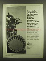 1965 Northern Natural Gas Company Ad - A New High
