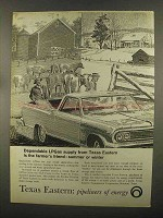 1965 Texas Eastern Ad - Dependable LPGas Supply