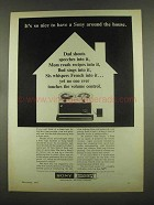 1965 Sony Model 135 Tape Recorder Ad - It's So Nice
