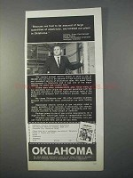 1966 Oklahoma Industrial Development Ad - Electricity