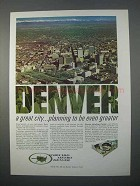 1966 Denver Development Ad - Planning to Be Greater
