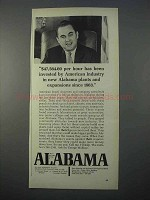 1966 Alabama Industrial Development Ad - George Wallace