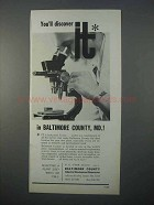 1966 Baltimore Industrial Development Commission Ad - Discover