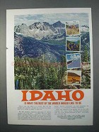1966 Idaho Department of Commerce and Development Ad