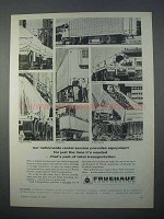1966 Fruehauf Trailers and Containers Ad - Nationwide
