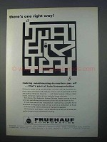 1966 Freuhauf Automatic Systems Division Ad - One Way