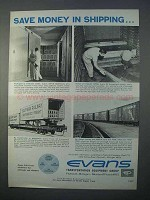 1966 Evans Transportation Equipment Group Ad - Save