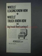 1966 Wheels Inc. Ad - Leasing Know-How
