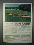 1966 Hesston Windrower Ad - PT-10, 110, 280 and 500