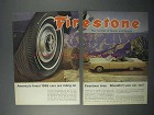 1966 Firestone Tires Ad - Finest Cars