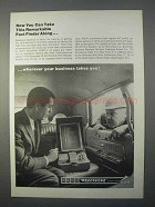 1966 Kodak Recordak 20 / 20 Portable Film Reader Ad