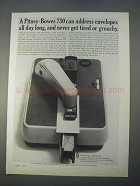 1966 Pitney-Bowes 730 Addresser-Printer Ad - All Day