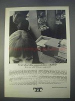 1966 Teletype Equipment Ad - Reliability
