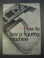 1966 Victor Calculator Ad - How to Buy Figuring Machine