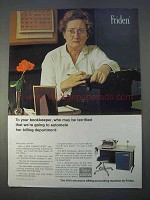 1966 Friden 5010 Computyper Billing/Accounting Ad