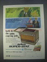 1966 Apeco Super-Stat Copier Ad - Same Copying Jobs