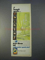 1966 Dishwasher All Detergent Ad - 7 Tough Spots
