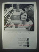 1966 Shulton Desert Flower Perfume Ad - Woman all Day