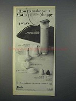 1966 Norelco Beauty Sachet Shaver Ad - Mother Happy