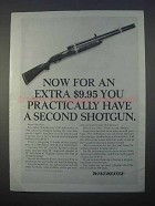 1966 Winchester Shotgun Ad - Practically Have a Second